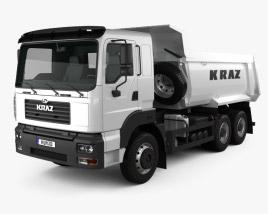 KrAZ C26.2M Tipper Truck 2013 3D model