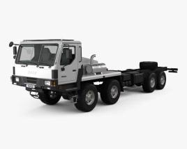 KrAZ 7634HE Chassis Truck 2014 3D model