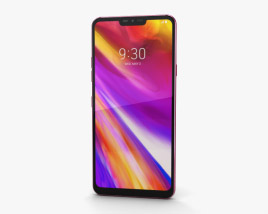 LG G7 ThinQ Raspberry Rose 3D model