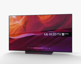 LG OLED TV B8 65 3D model