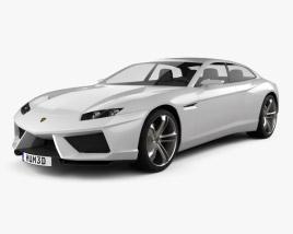 Lamborghini Estoque 2008 3D model