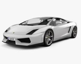 Lamborghini Gallardo LP 560-4 2009 3D model
