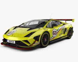 Lamborghini Gallardo LP 570-4 Super Trofeo 2013 3D model