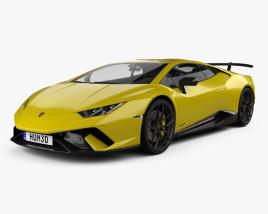 Lamborghini Huracan Performante 2017 3D model