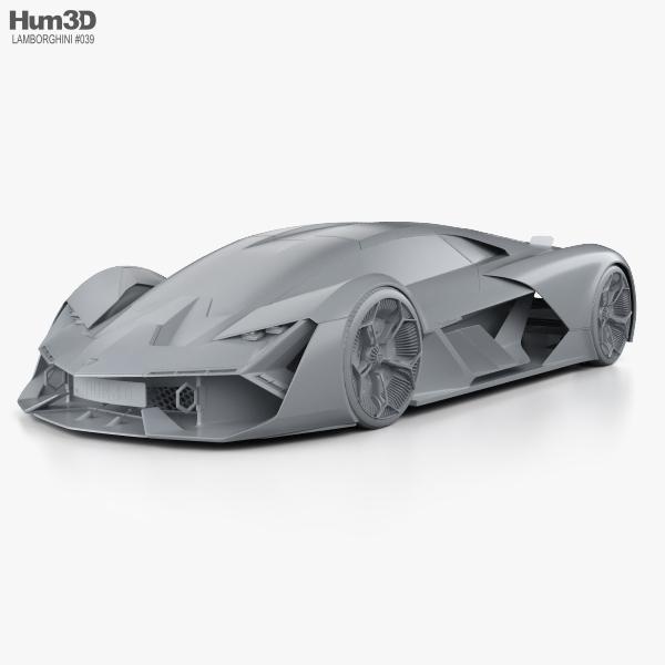 Lamborghini Terzo Millennio 2017 3d Model Vehicles On Hum3d