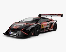 Lamborghini Gallardo Mad Croc 2017 3D model