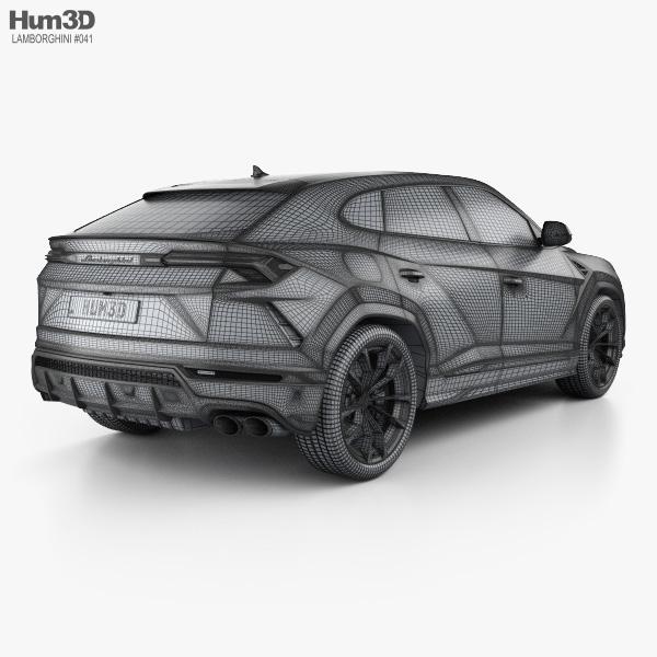 Lamborghini Urus 2019 3d Model Vehicles On Hum3d
