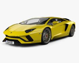 Lamborghini Aventador S 2017 3D model