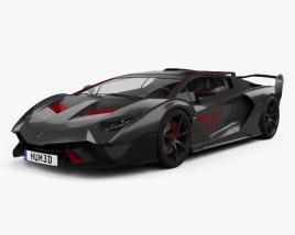 Lamborghini SC18 2018 3D model