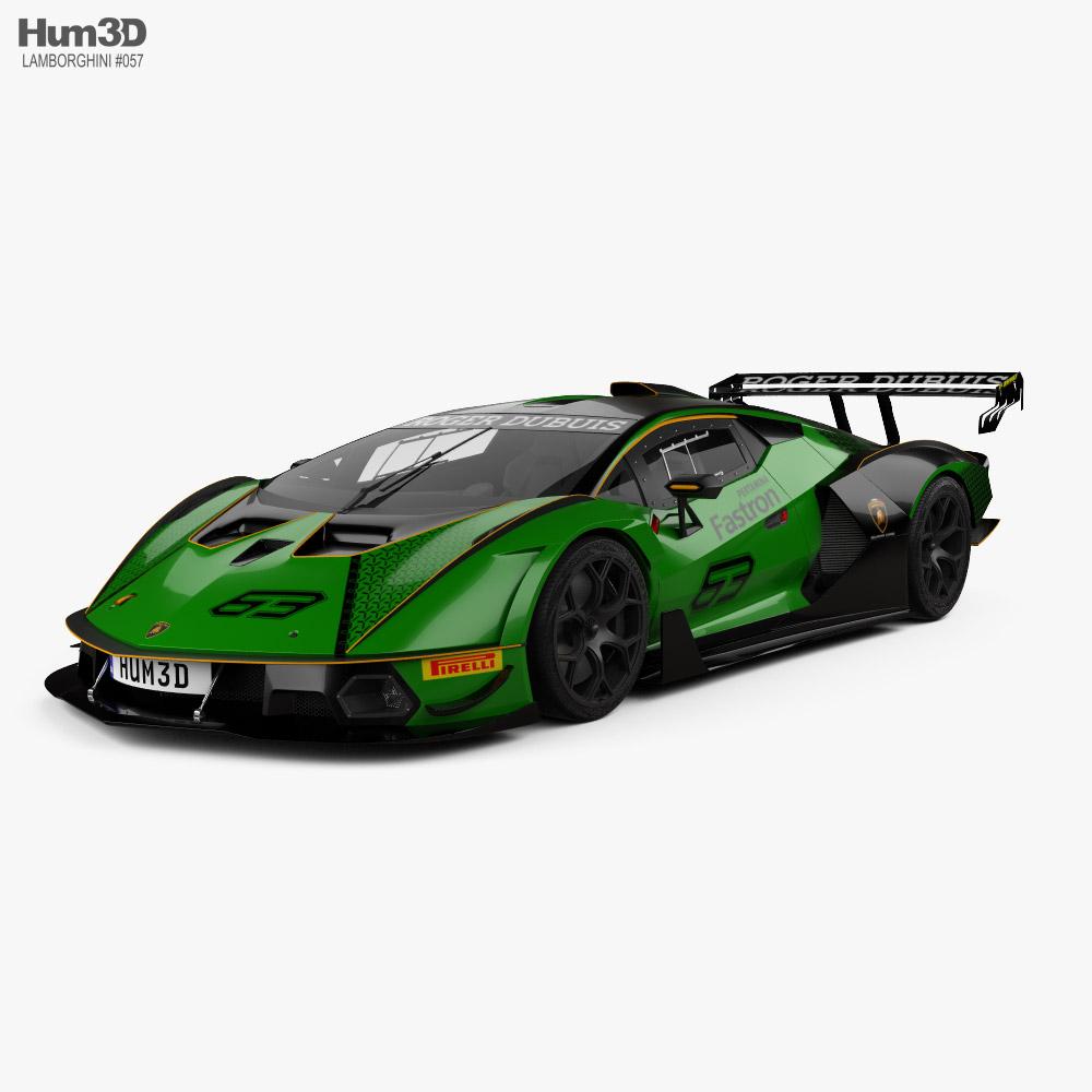 Lamborghini Essenza SCV12 2021 3d model