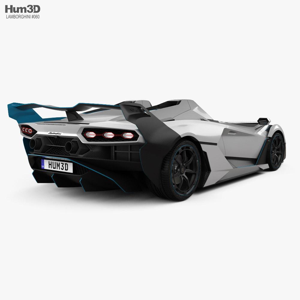 Lamborghini SC20 2020 3d model