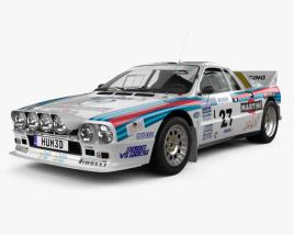 Lancia Rally 037 WRC Group B 1983 3D model