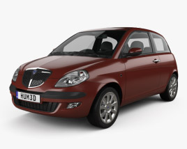 Lancia Ypsilon 2003 3D model