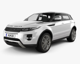 Range Rover Evoque 2012 3D model