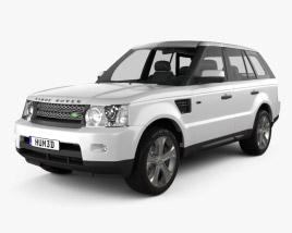 Land Rover Range Rover Sport 2011 3D model