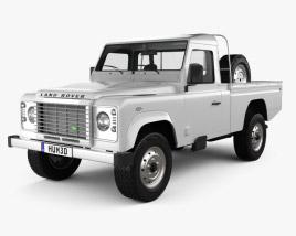 Land Rover Defender 110 High Capacity Pickup 2011 2011 3D model