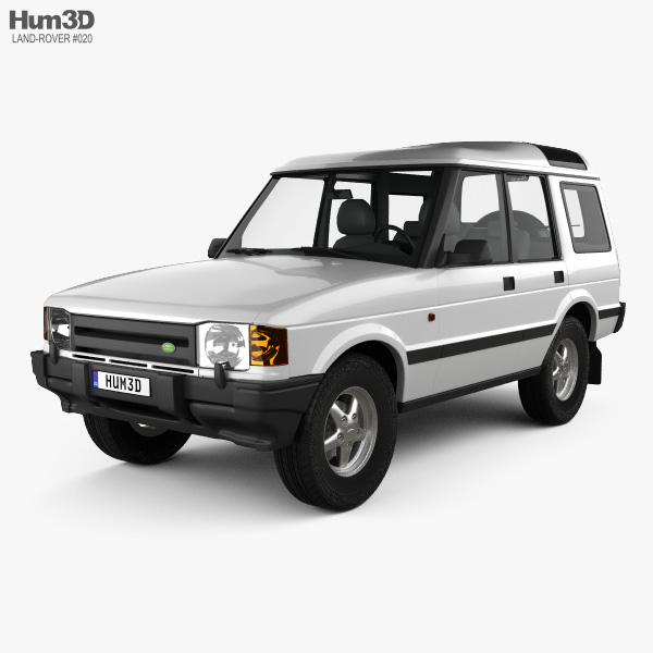 Sold Land Rover Discovery 3 Discov: Land Rover Discovery 5-door 1989 3D Model