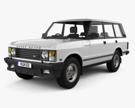 Land Rover Range Rover 1991 3D model