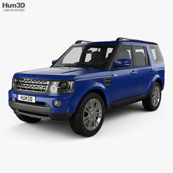 Military Land Rover Discovery 1995: Land Rover Discovery 2014 3D Model