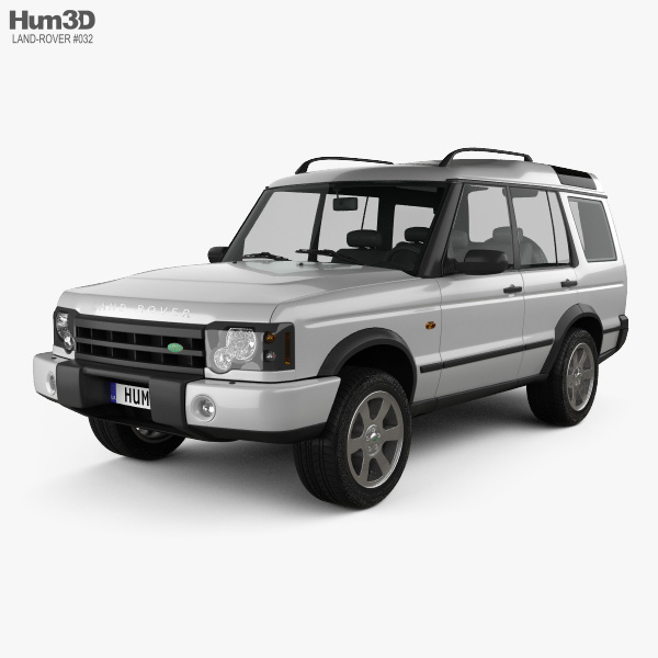 Military Land Rover Discovery 1995: Land Rover Discovery 2003 3D Model