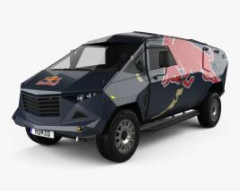 Land Rover Defender Red Bull Event 2016 3D model