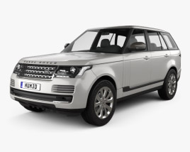 Land Rover Range Rover L405 Vogue 2014 3D model
