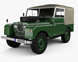 Land Rover Series I 86 Soft Top 1953 3D model
