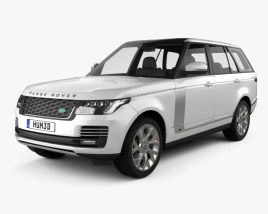 Land Rover Range Rover Autobiography 2018 3D model