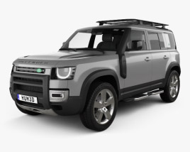Land Rover Defender 110 Explorer Pack 2020 3D model