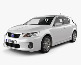 Lexus CT 200h 2011 3D model