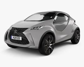 Lexus LF SA 2015 3D model