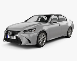 Lexus GS 350 2015 3D model
