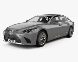 Lexus LS 2017 3D model