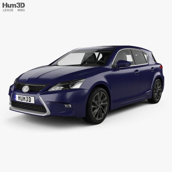 2011 Lexus Ct Camshaft: Lexus CT Hybrid Prestige 2018 3D Model