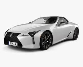 Lexus LC convertible 2019 3D model