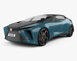 Lexus LF-30 Electrified 2019 3D model