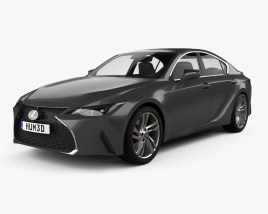 Lexus IS 2021 3D model