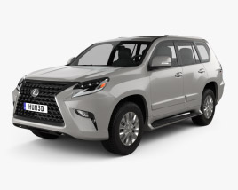 Lexus GX US-spec 2020 3D model