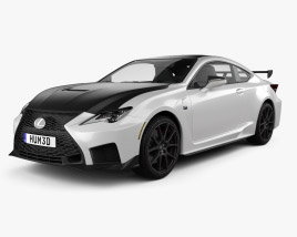 Lexus RC F-Track Edition US-spec 2020 3D model