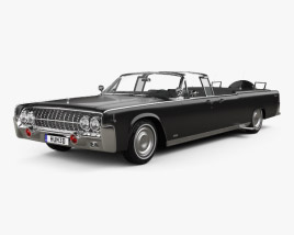 Lincoln Continental X-100 1961 3D model