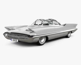 Lincoln Futura 1955 3D model