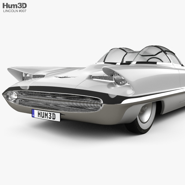 Lincoln Futura 1955 3d Model Vehicles On Hum3d
