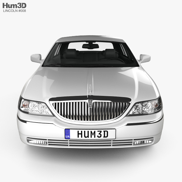 Lincoln Town Car L 2011 3d Model Vehicles On Hum3d
