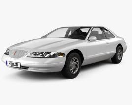 Lincoln Mark 1998 3D model