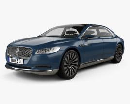 Lincoln Continental concept 2015 3D model