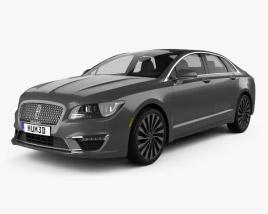 Lincoln MKZ 2017 3D model