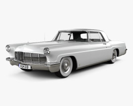 Lincoln Continental Mark II 1956 3D model