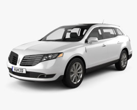 Lincoln MKT 2017 3D model