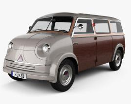 Lloyd LT 500 1955 3D model