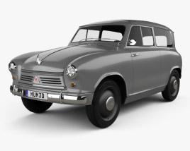 Lloyd LS 400 1953 3D model